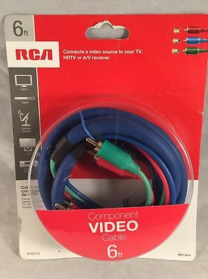*NEW* RCA 6FT COMPONENT VIDEO (Audiovox Rca Component Video)