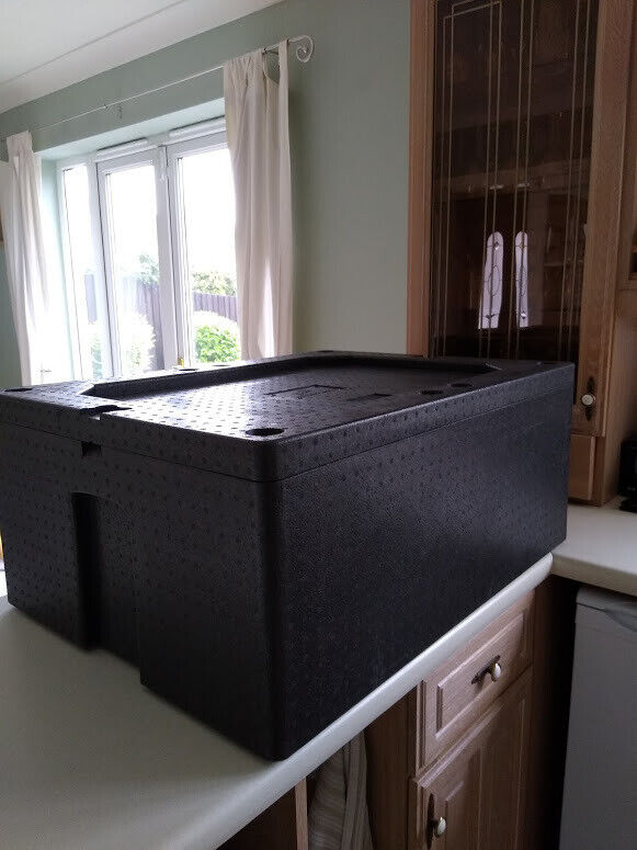 New Large Insulated Catering boxes 3 in total  External dimensions  79x59x33cms  | in Nuneaton, Warwickshire | Gumtree