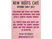 New Roots Cafe - Volunteers required for new social enterprise cafe