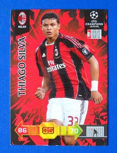 CARD PANINI ADRENALYN CHAMPIONS LEAGUE 2010/11 - THIAGO SILVA - MILAN - Italia - L'oggetto può essere restituito - Italia