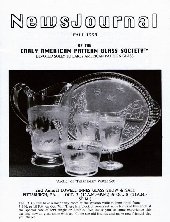 Early American Pattern Glass Society NewsJournal 2-3