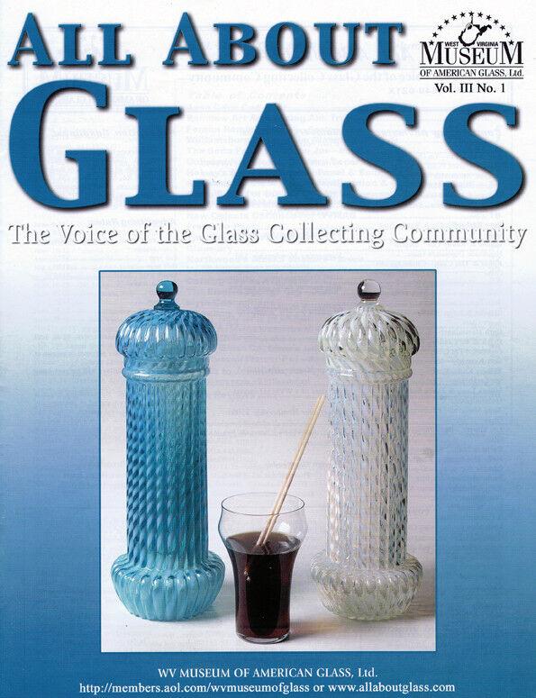 All About Glass 3-1: Avon Cape Cod*Fenton*Straw Jars