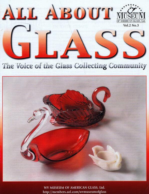 All About Glass 2-3: Fenton Rosaline*Crystallograph Mug
