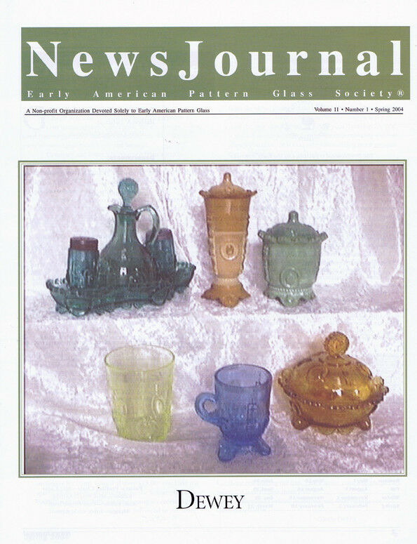 Early American Pattern Glass Society NewsJournal 11-1