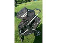 Hauck Duett tandem stroller/ double pushchair
