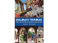 Gullible's Troubles, Suzi Tooke, paperback, couples adventures in France & Sicily in camper van