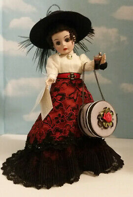 Madame Alexander Doll Coca Cola Victorian Girl Porcelain Excellent Condition!