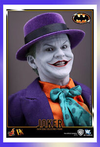 Hot Toys Joker DX08 1/6 Figure from Batman 1989 In Stock DX 08