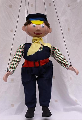 De Augsburg Teatro Títeres Lukas El Conductor Del Motor Marioneta Jim Pulsador -  - ebay.es