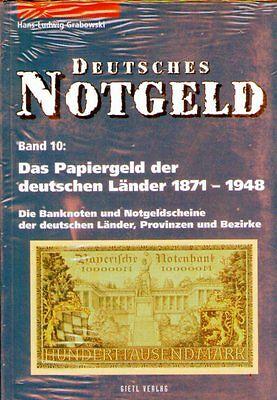 6018: Deutsches Notgeld, Band 10, Papiergeld 1871-1948
