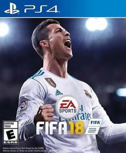 FIFA 18 PS4 brand new