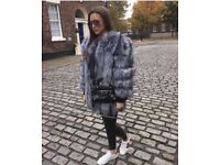 Fox fur coat wen worn once payed 600 will take 350