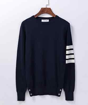 Thom Browne Long sleeve Navy Striped Sweater  Size2(M)