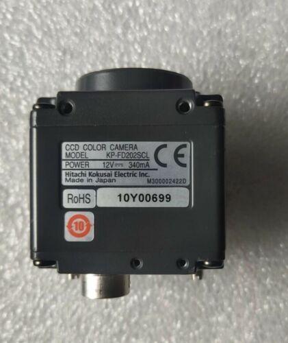 1Pcs USED HITACHI Industrial CCD Camera KP-FD202SCL