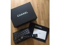 Chanel classic/iconic jumbo flap bag Lambskin