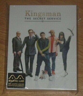 Kingsman (blu-ray) Steelbook - Manta Lab (Fullslip). NEW & SEALED