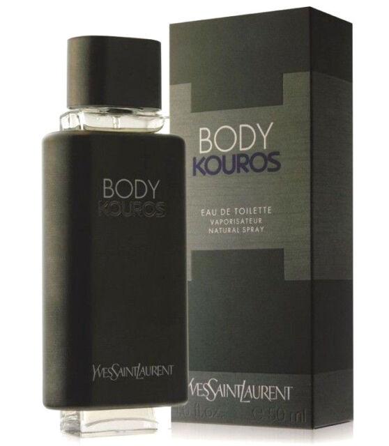 BODY KOUROS 50ml EDT MEN GENUINE NEW Perfume spray BY Yves Saint Laurent BNIB