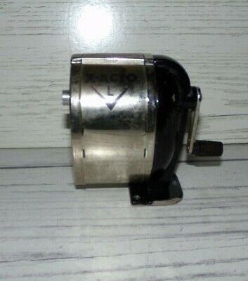 Vintage X Acto Model L Table Or Wall Mount Manual Pencil Sharpener