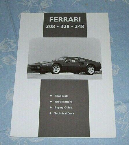 FERRARI+308+328+348+BOOK+ABOUT+THE+CARS+++CP+Press