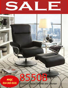 8550BLK, swivel recliner office arm chairs, meuble valeur