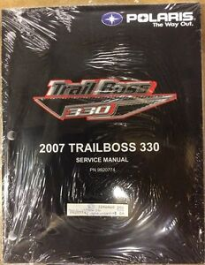 SHOP MANUAL POLARIS 2007 TRAIL BOSS 330