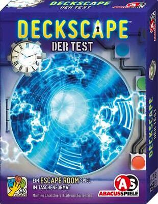 AMIGO 38172 Abacus Spiele Deckscape - Der Test