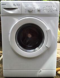 Beko 6kg washing machine 1500 spin clean