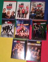 Big Bang Theory seasons 1-8