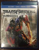 Transformers Dark of the Moon Blu-Ray and DVD combo