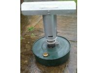 Greenhouse or shed heater