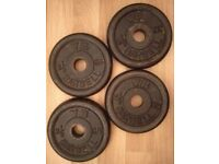 4 x Cast Weights