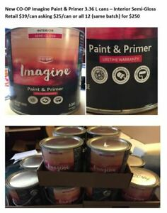Mixed Paint - 3.36L and 5 Gallon Pails