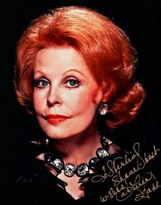 Pretty Close-up ARLENE DAHL Signed Photo
