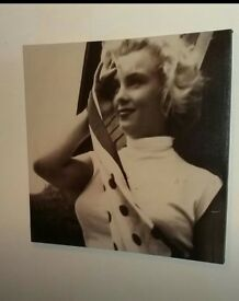 Marylin Monroe canvas picture