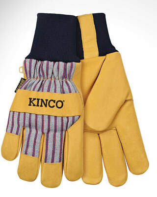 Kinco 1927kw Grain Pigskin Leather Palm Winter Gloves Wheatkeep Lining Med - Xl