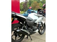 Honda CBF 125cc 2013 for sale low mileage good condition