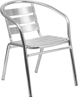 Flash Furniture Heavy Duty Aluminum Commercial Indoor-Outdoor Restaurant...
