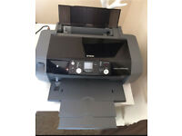 Epson Stylus Photo R240 Printer With Lots of Ink Cartridges