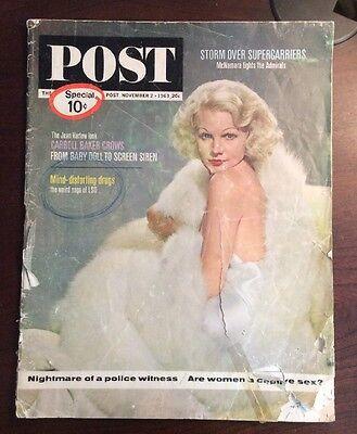 Mag Post Com (Post (November 2, 1963, Magazine) LSD Jean Harlow)