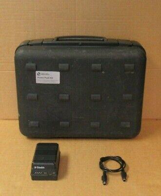 Trimble Spectra Precision Power Pack Kit Single Battery Charger 612v 572906330