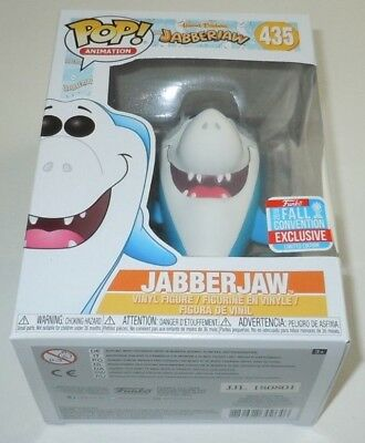 Jabberjaw Funko Pop Hanna Barbera 435 NYCC 2018 Fall Convention Exclusive Shark, used for sale  Shipping to Canada