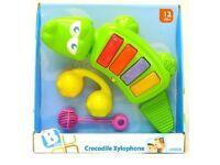 CROCODILE CHILDS XYLOPHONE - NEW
