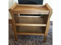 Baby changing unit (Antique style sleigh)