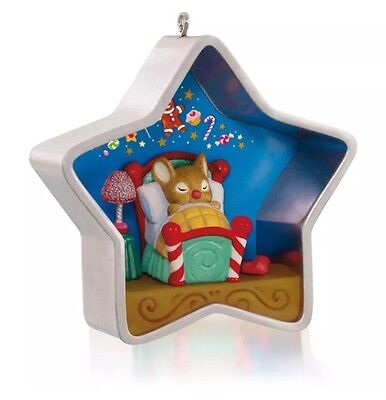 """2015 Hallmark """"COOKIE CUTTER CHRISTMAS"""" Ornament - 4th in Series - Snowmouse"""