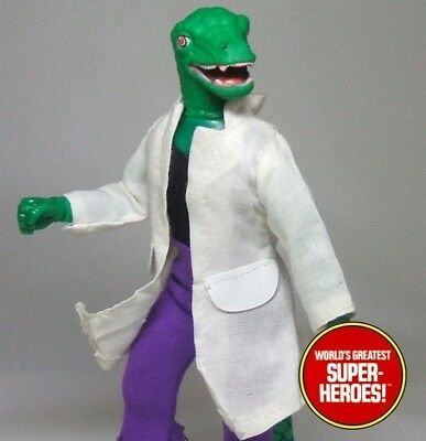 "Mego Lizard Lab Coat Reproduction For 8"" Action Figure WGSH Custom Parts Lot ()"