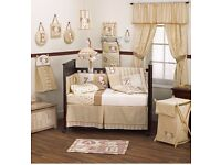 Cocalo Caramel Kisses Cot Bed Bedding Bundle