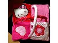Baby girls pink Hello Kitty play mat *immaculate*