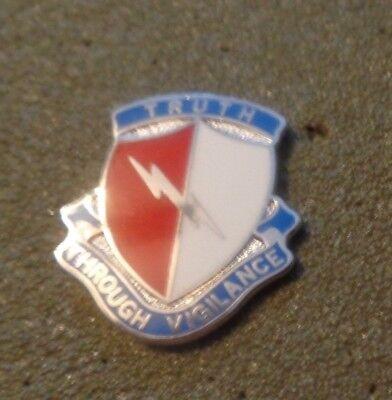 ARMY CREST, DUI, 142ND BATTLE FIELD SURVEILLENCE BRIGADE