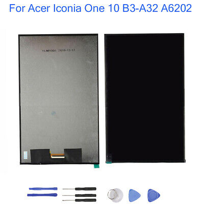 """10.1"""" For Acer Iconia One 10 B3-A32 A6202 Tablet LCD Display Screen Replacement"""