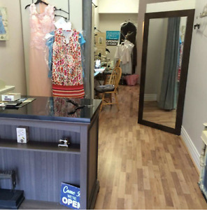 Very well established clothing alterations business for sale.